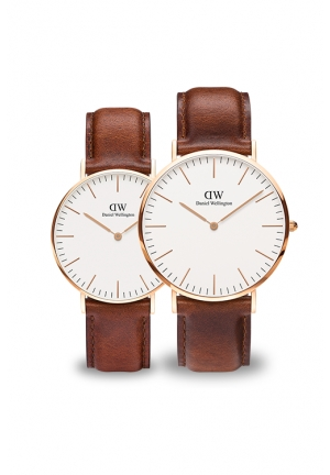 Daniel Wellington Classic Bristol Couple Watches