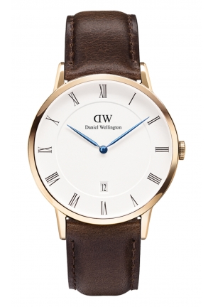 DANIEL WELLINGTON Dapper Bristol Rose Gold 38mm DW00100086