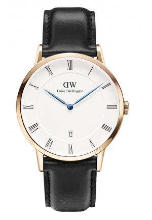 DANIEL WELLINGTON Dapper Sheffield Rose Gold 38mm DW00100084