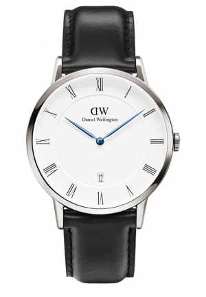 DANIEL WELLINGTON Dapper Sheffield Silver 38mm DW00100088