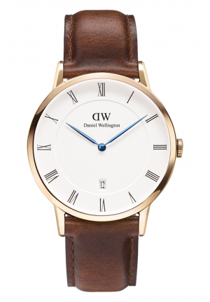 DANIEL WELLINGTON Dapper St Mawes Rose Gold 38mm DW00100083