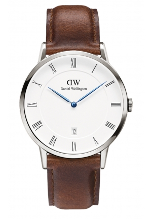DANIEL WELLINGTON Dapper St Mawes Silver 38mm DW00100090