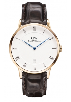 DANIEL WELLINGTON Dapper York Rose Gold 38mm DW00100085