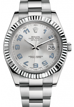 DATEJUST II Oyster steel and white gold , M116334-0001 41 mm