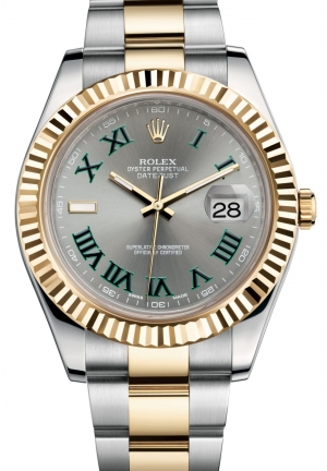 DATEJUST II Oyster steel and yellow gold , M116333-0001 41 mm