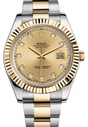 DATEJUST II Oyster steel and yellow gold , M116333-0007 41 mm
