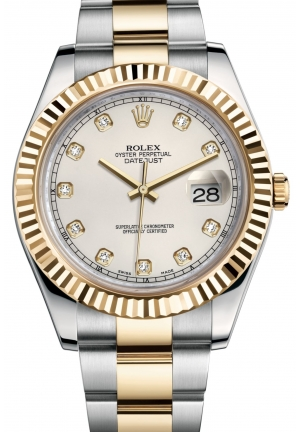 DATEJUST II Oyster steel and yellow gold , M116333-0008 41 mm