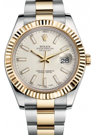 DATEJUST II Oyster steel and yellow gold , M116333-0005 41 mm