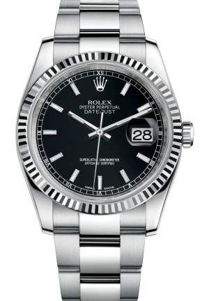 DATEJUST Oyster steel and white gold , M116234-0091 36 mm