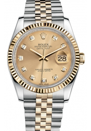 DATEJUST Oyster steel and yellow gold , M116233-0150 36 mm