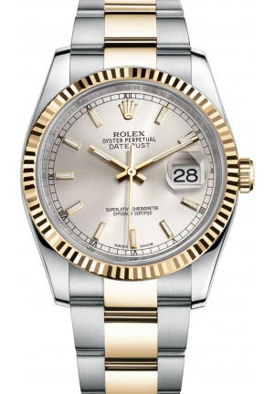 DATEJUST Oyster steel and yellow gold , M116233-0169 36 mm