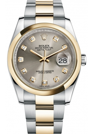 DATEJUST Oyster steel and yellow gold , M116203-0138 36 mm