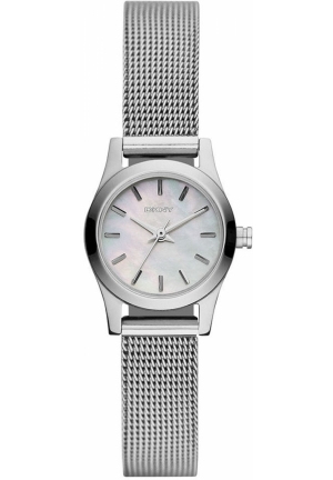 DKNY Broadway Women's Stainless Steel Mesh Bracelet 20mm