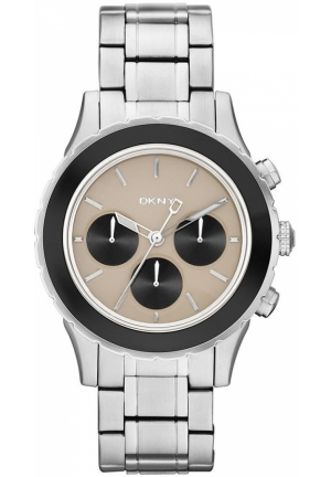 DKNY Brooklyn Chronograph Stainless Steel Bracelet 42mm