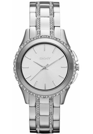 DKNY Crystal Detail Bracelet Watch 33mm