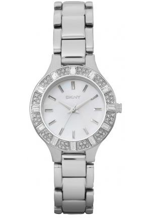 DKNY Glitz Mother-of-Pearl Dial Women's Watch 45mm