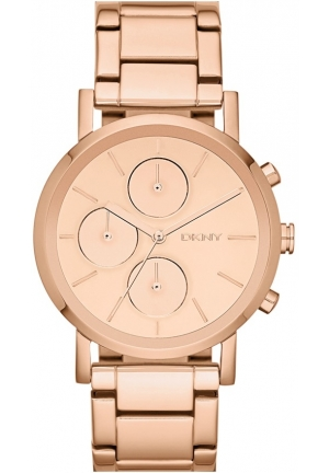 DKNY Lexington Mirror Dial Chronograph Bracelet Watch, 38mm