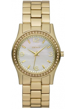 DKNY Mother-of-Pearl Dial Women's Watch 32mm