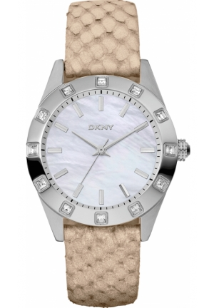 DKNY Nolita Ladies Neutrals Watch 36mm