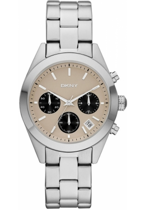 DKNY Nolita Women's Chronograph Stainless Steel Bracelet 38mm
