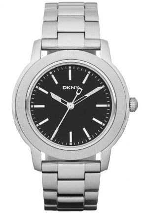 DKNY Park Avenue Gents Stainless Steel Bracelet Watch 45mm