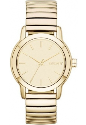 DKNY Park Avenue Stainless Steel Expansion Bracelet - Gold-Tone Women's watch 34mm