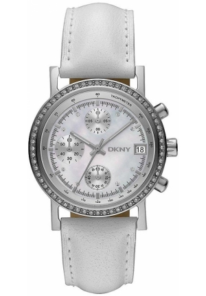 DKNY Round Chrono with Glitz Mother-of-pearl Dial Women's watch 39mm Mã sản phẩm #:265767