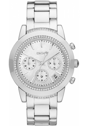 DKNY Tribeca Women's Chronograph Stainless Steel Bracelet 38mm