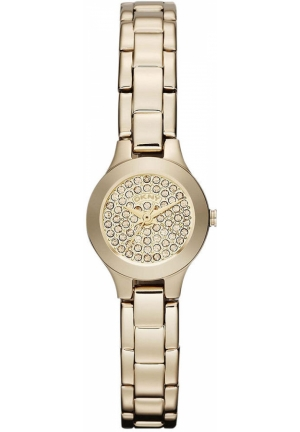 DKNY Women's Gold Ion-Plated Stainless Steel Bracelet 20mm
