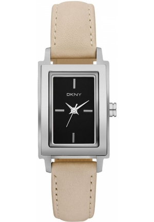 DKNY Women's Nude Leather Strap 23mm