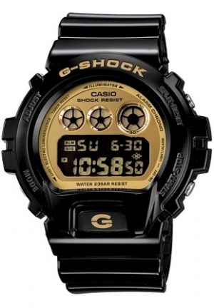 CASIO G-SHOCK Men  Gold Tone Digital Dial