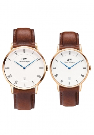 Couple Dapper St Mawes Brown Leather