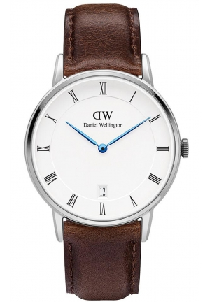 DANIEL WELLINGTON Dapper Bristol Silver 34mm DW00100098