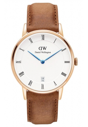 DANIEL WELLINGTON Dapper Durham Rose Gold 34mm DW00100113