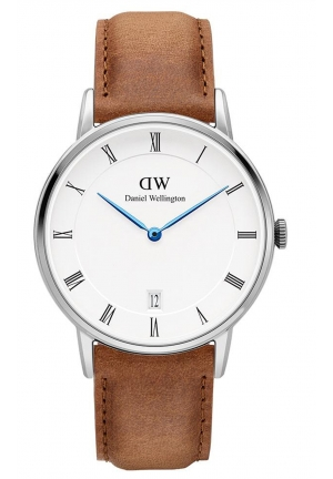 DANIEL WELLINGTON Dapper Durham Silver 34mm DW00100114