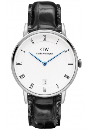 DANIEL WELLINGTON Dapper Reading Silver 34mm DW00100117