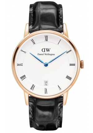 DANIEL WELLINGTON Dapper Reading Rose Gold 34mm DW00100118
