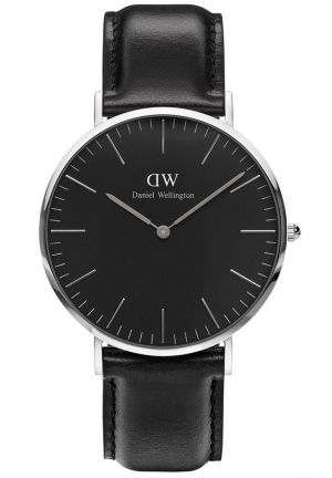 Classic Black Sheffield 40mm Silver DW00100133