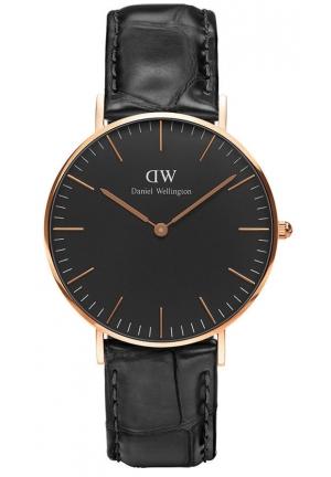 Daniel Wellington Classic Black Reading 36mm – Rose Gold DW00100141