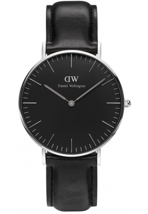 Classic Black Sheffield 36mm Silver DW00100145