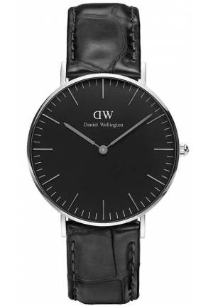 Classic Black Reading 36mm Silver DW00100147