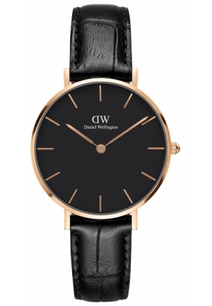 DANIEL WELLINGTON CLASSIC PETITE BLACK READING DW00100167