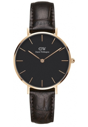 DANIEL WELLINGTON CLASSIC PETITE BLACK YORK DW00100170