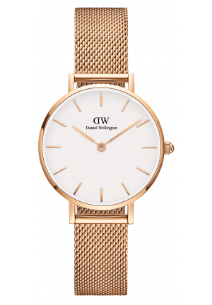 DANIEL WELLINGTON CLASSIC PETITE MELROSE ROSE GOLD  28MM DW00100219