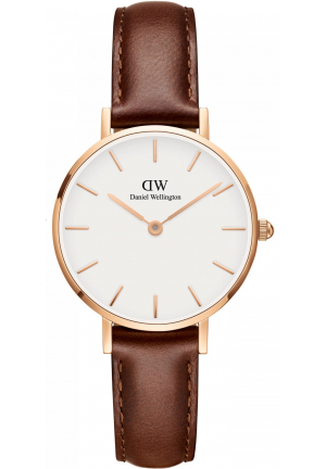 DANIEL WELLINGTON CLASSIC PETITE ST MAWES LADIES WATCH DW00100231, 28MM