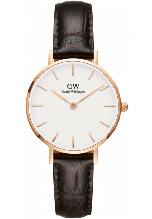 DANIEL WELLINGTON CLASSIC PETITE YORK LADIES WATCH DW00100232, 28MM