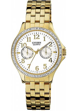 Women's Gold Tone Stainless Steel Bracelet 38mm