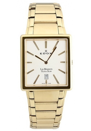 EDOX Men's Les Bemonts Ultra Slim Watch 45mm