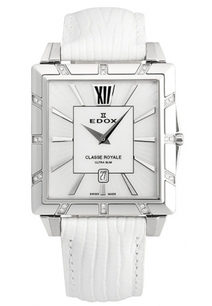 EDOX Women's Classe Royale Ultra Slim Watch 43mm