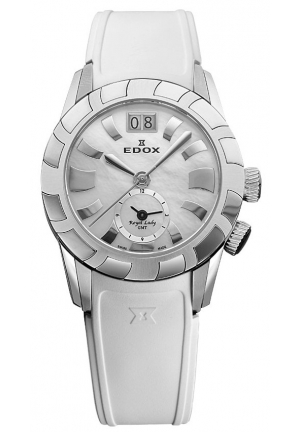 EDOX Women's Royal Lady GMT Watch 34mm